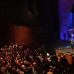 Marilyn was well received at New Creation Church