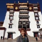 Marilyn in front of Potala Palace