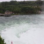 Rhine Falls lower section.