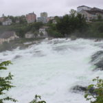 Rhine Falls upper section.