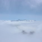 Above the clouds on Mt. Titlis