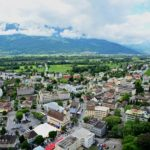 Overlooking Liechtenstein (stock photo)