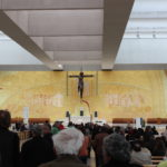 Inside the sanctuary of Fatima