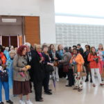 Travelers enjoying Fatima