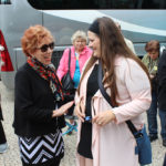 Marilyn loved meeting and talking with each traveler