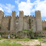 The walled city of Obidos